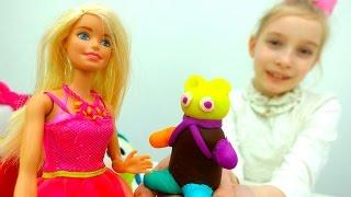 Видео для девочек с Барби - Подарок для Штеффи - Игры для девочек