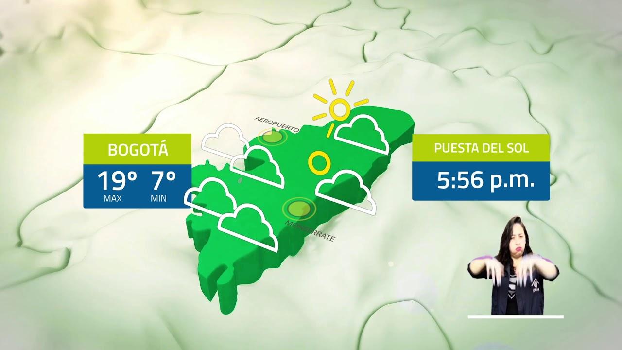 Clima bogota mañana por horas