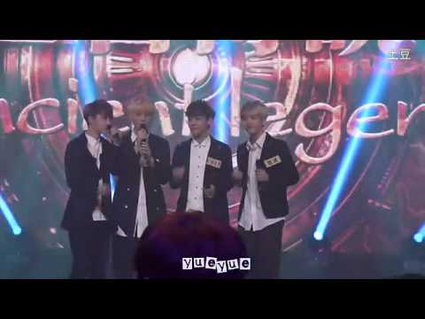 Baekhyun Chen D.O Luhan acapella live 'Open Arms' @ EXO China Big Love Concerts
