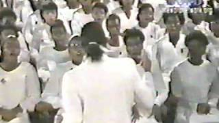 The International UNAC Choir 1986 / Mattie Clark - My Faith Looks Up To Thee