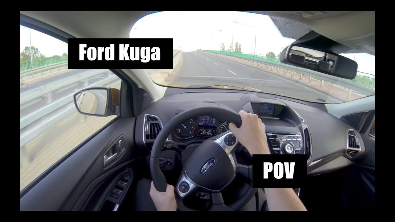 maxresdefault 2015 ford kuga 2 0 tdci 180 hp pov test drive youtube