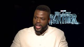 Black Panther: Daniel Kaluuya and Winston Duke Interview