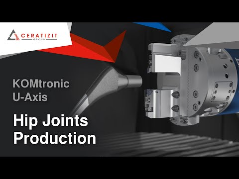 Artificial Hip Joints - Highly Precise and Economical Production Solution