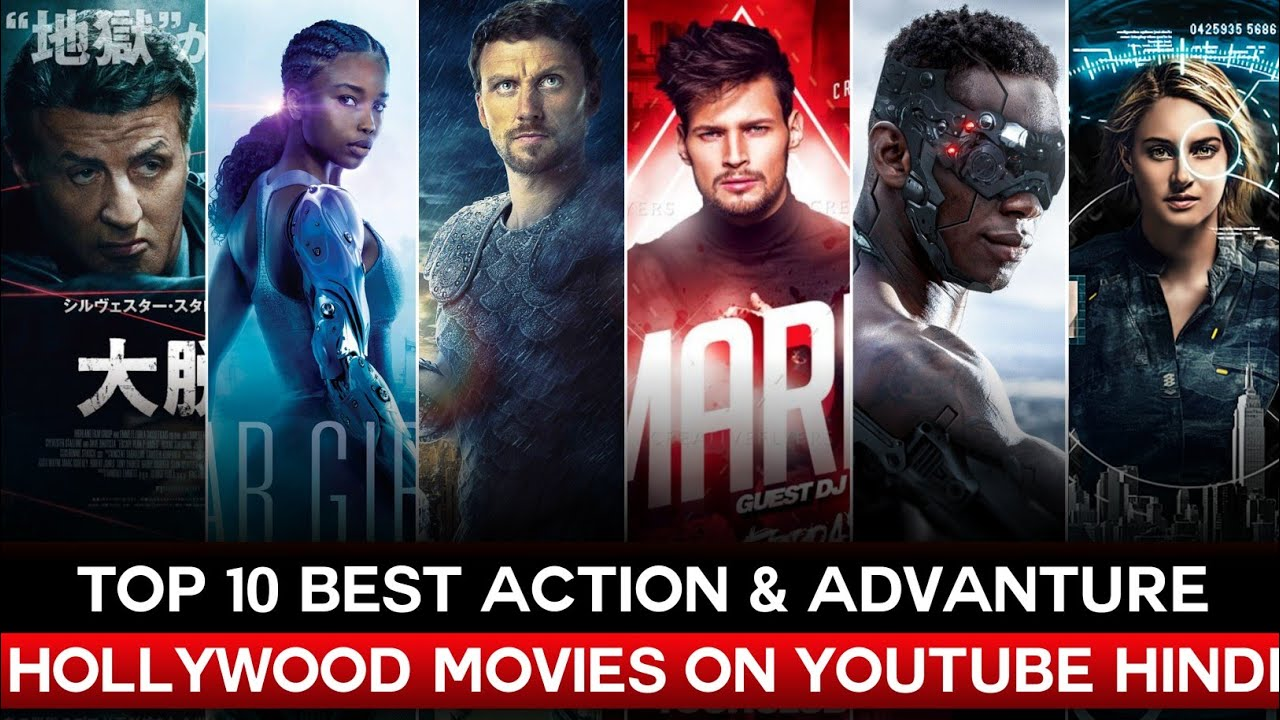 Top 10 Hollywood Movies Available on YouTube Dubbed in Hindi