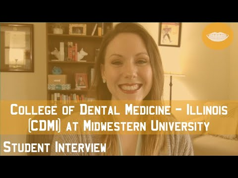 College Of Dental Medicine - Illinois At Midwestern University (CDMI) Student Interview || FutureDDS