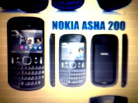 How to fix Nokia Asha 200 browser application that is not responding.