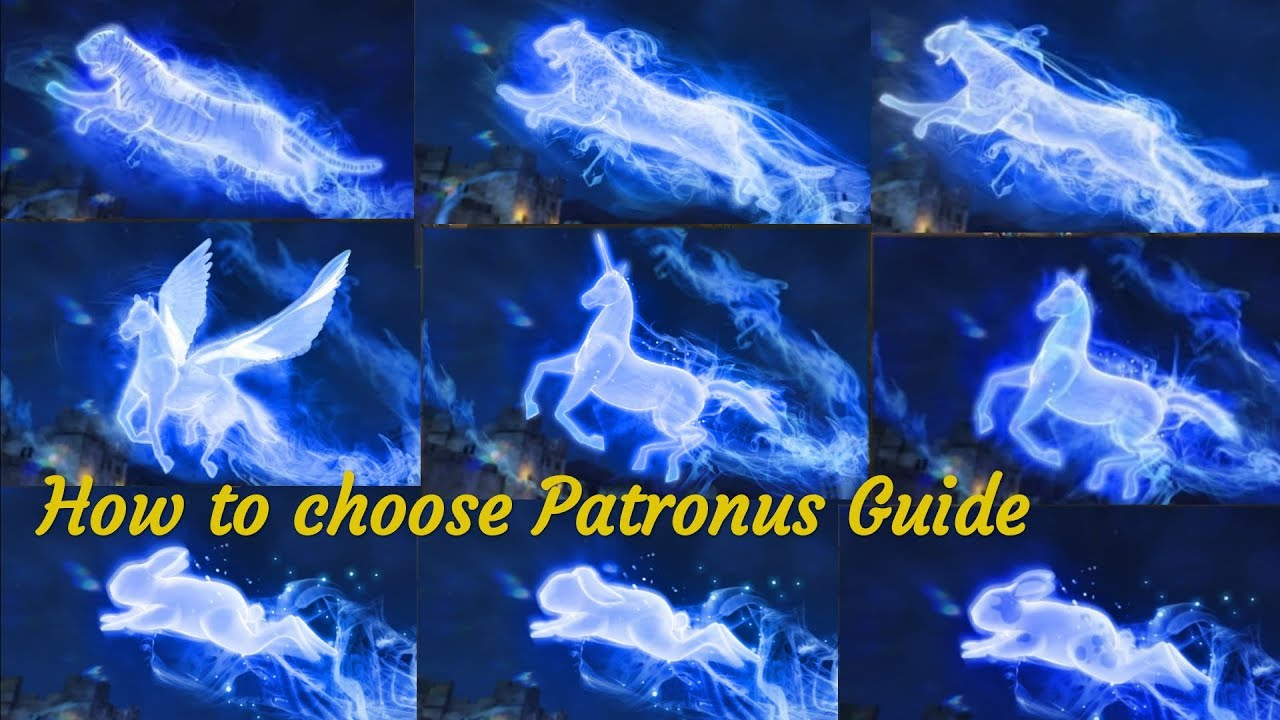 How To Choose Patronus Animal Guide Hogwarts Mystery