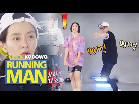Lia Kim's The First Obstacle.. Ji Seok Jin! [Running Man Ep 455]