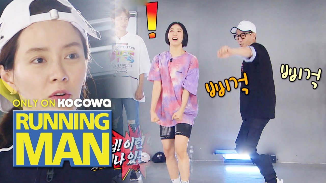 Lia Kim's The First Obstacle.. Ji Seok Jin! [Running Man Ep 455]