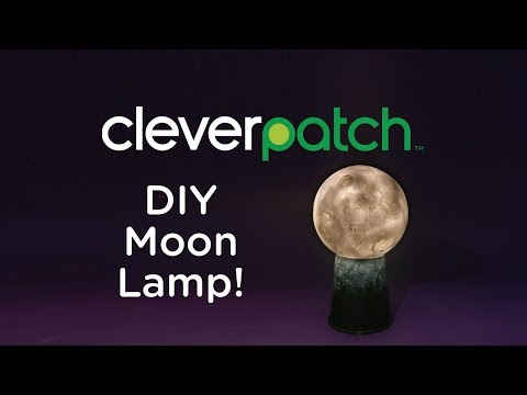 DIY/Craft Activity - Moon Lamp