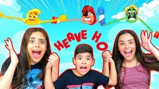 NÃO PODEMOS SOLTAR AS MÃOS !!!! (Heave Ho) - WE CANNOT LOSE HANDS