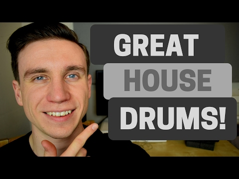 How To Make Great House Drums - 5 Tips