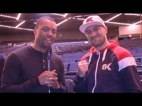 Sergey Kovalev After KRUSHING TKO WIN vs Vyacheslav Shabranskyy
