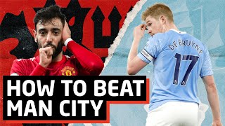 HUGE Chance For Silverware!   Manchester United vs Manchester City Tactical Preview