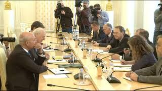 Sergey Lavrov & Staffan de Mistura | С.Лавров и Стаффан де Мистура
