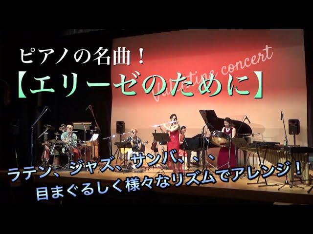 ピアノの名曲【エリーゼのために】をバンド編成でラテン、ジャズ、サンバ...目まぐるしく様々なリズムでアレンジ!