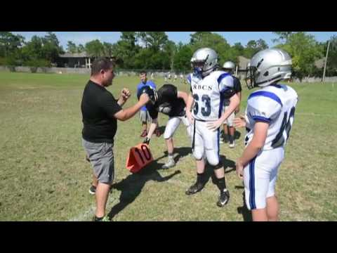 Rocky Bayou Christian School gears up for spring football season in Niceville.