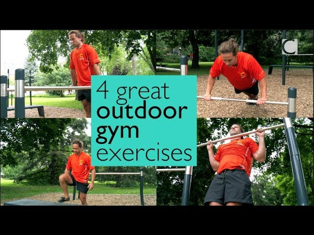X EXPLAINED: 4 great outdoor gym exercises