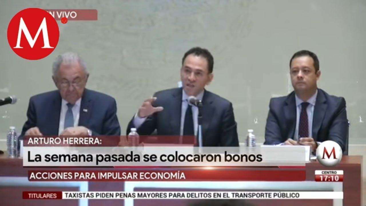 Arturo Herrera anuncia inversión para impulsar la economía en México