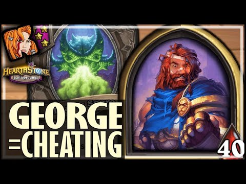 Download PLAYING GEORGE IS CHEATING! - Hearthstone Battlegrounds