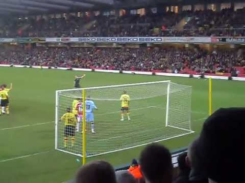 Watford vs Sheffield United - Danny Weber Goal