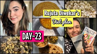 Trying RUJUTA DIWEKAR'S Diet P…