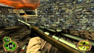 Return To Castle Wolfenstein Walkthrough Operation Resurrection - Part 24 ( Bombed Factory ) PS2