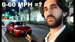 2018 Alfa Romeo Giulia 0-60 MPH? /// + I REACHED 1K!!!
