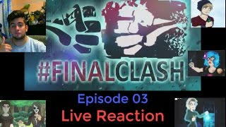 Melina kommt zur vernunft !!! - Finalclash (Tubeclash 3) Episode 03 Live Reaction