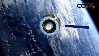 嫦娥五号轨返组合体第一次月地转移入射 |《中国新闻》CCTV中文国际 - YouTube