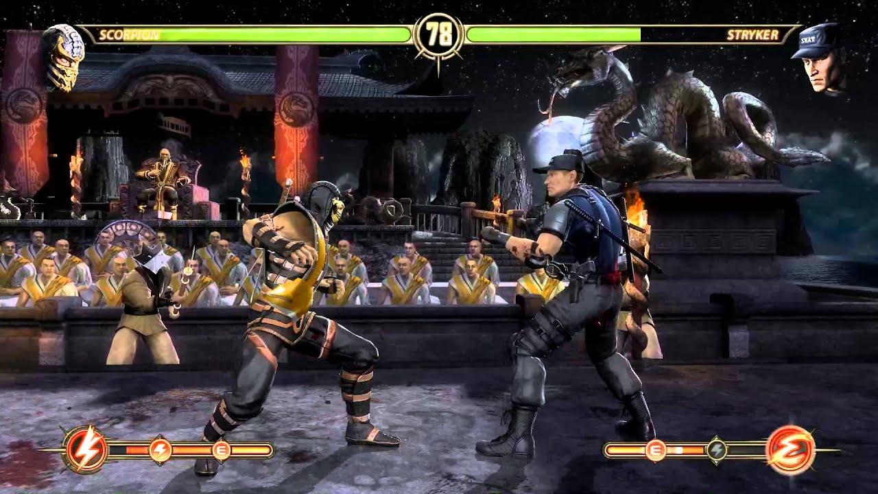 Mortal Kombat: Komplete Edition Skin Sonya Supergirl