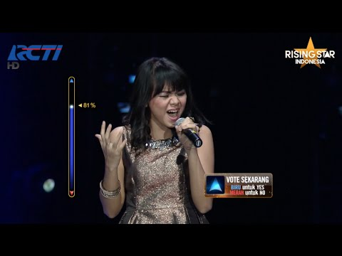 "Talita Arsyta ""The Voice Within"" Christina Aguilera - Rising Star Indonesia Final Duels 2 Eps. 14"