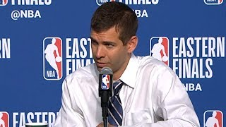 Brad Stevens postgame interview / Celtics vs Cavaliers Game 6