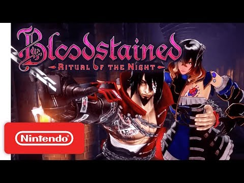 Bloodstained: Ritual of the Night - Gameplay Trailer - Nintendo Switch