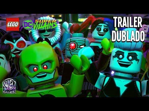 LEGO DC SUPER-VILLAINS – TRAILER DA HISTÓRIA (Dublado em Português PTBR)