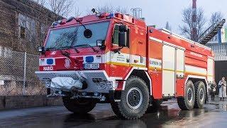 POŽÁRY.cz: V pražských Letňanech budou hasiči jezdit novou Tatrou Force