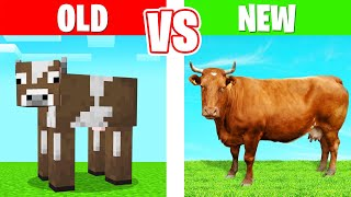 MINECRAFT But IT'S ACTUALLY REALISTIC! (Mod)