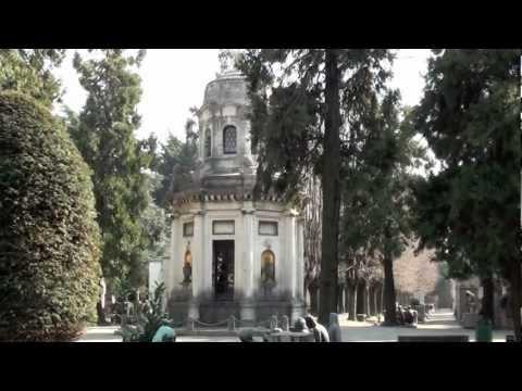 TOMBE CELEBRI DEL CIMITERO MONUMENTALE DI MILANO - 3 - 3.3.2012