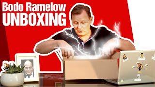Bodo Ramelow unboxing Giveaways