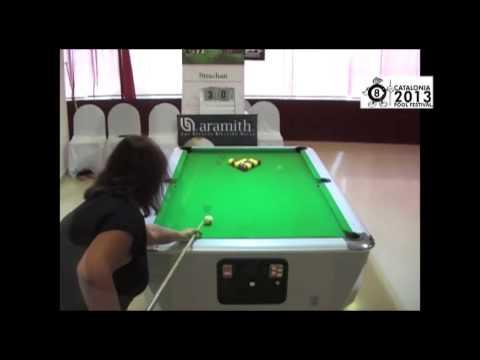 Kirsty-Lee Davies vs Kim Shaw Final Ladies Open CPF 2013