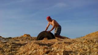 Когда вкопали колесо