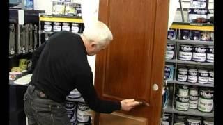 Реставрация деревянной двери(В этом видео рассказывается о том, как самостоятельно отреставрировать деревянную дверь и правильно нанос..., 2014-02-10T19:36:44.000Z)