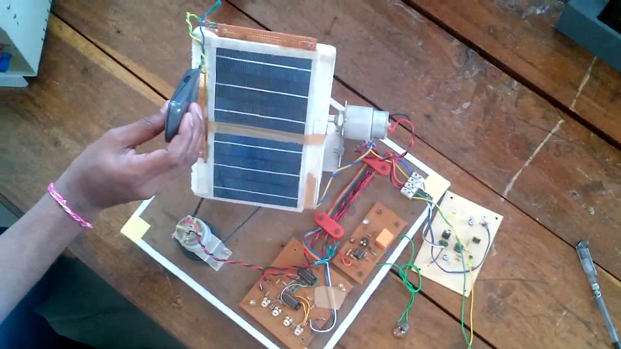 Dual Axis Solar Tracking Video Youtube