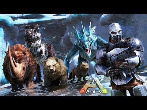 ARK: Survival Evolved - TAMING NEW DINOSAURS!! (ARK Ragnarok Gameplay)