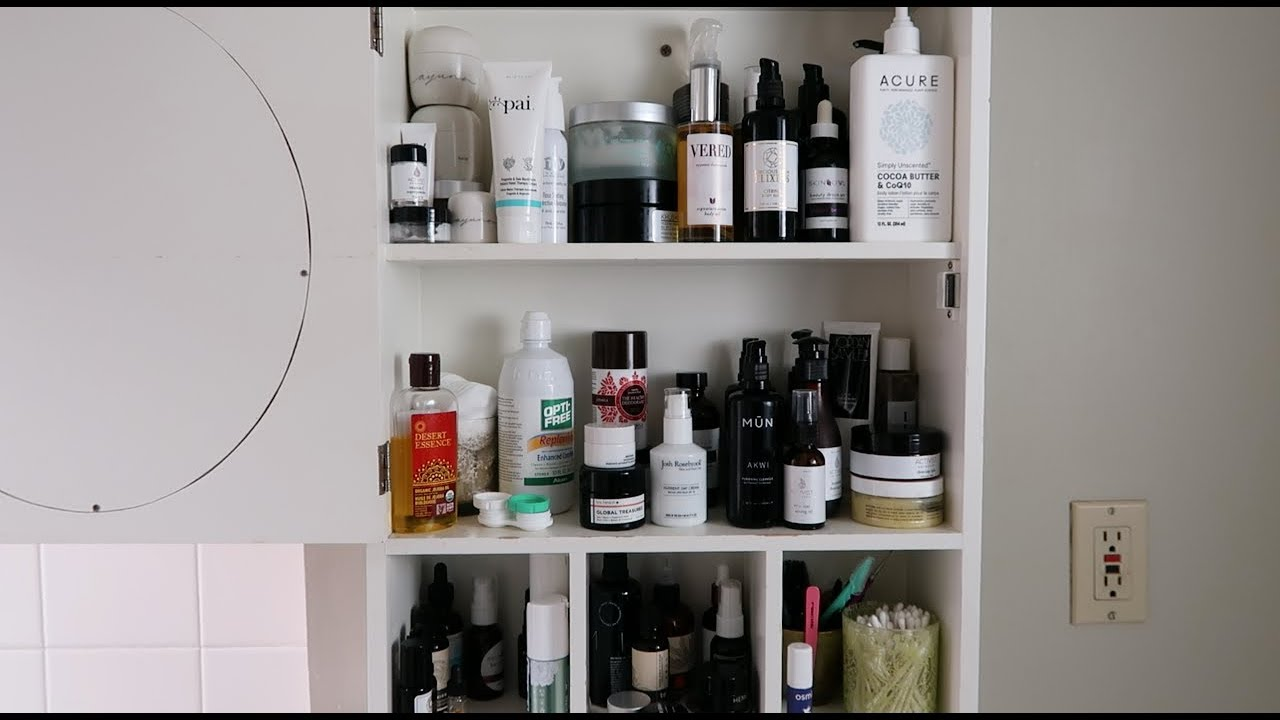 Lovely Updated Skincare // February 2018 Cabinet Tour | Lu0027Amour Et La Musique