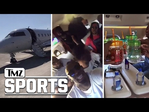 Usain Bolt's ULTIMATE PRIVATE JET TURN UP Carnival, Here We Come! I TMZ SPORTS