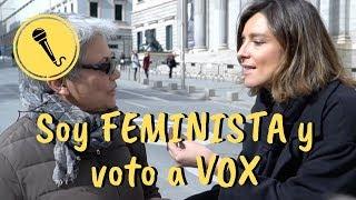 Soy feminista y voto a VOX - CONVÉNCEME - SANDRA BARNEDA