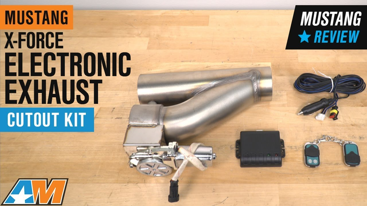 xforce electronic exhaust cutout kit 3 inch universal fitment