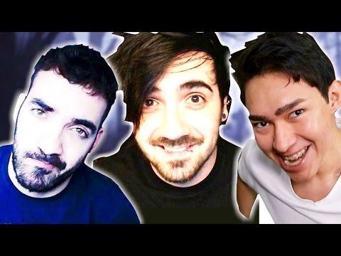 iTownGameplay, Bersgamer y Fernanfloo contra la CRUZ TROLL !!