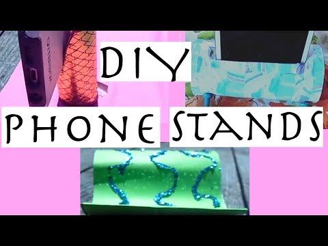 Phone Stand DIY| Paper Towel rolls